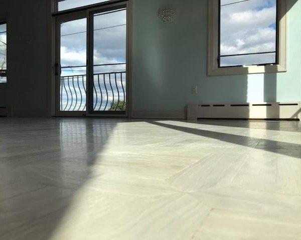 White Parquet Floors