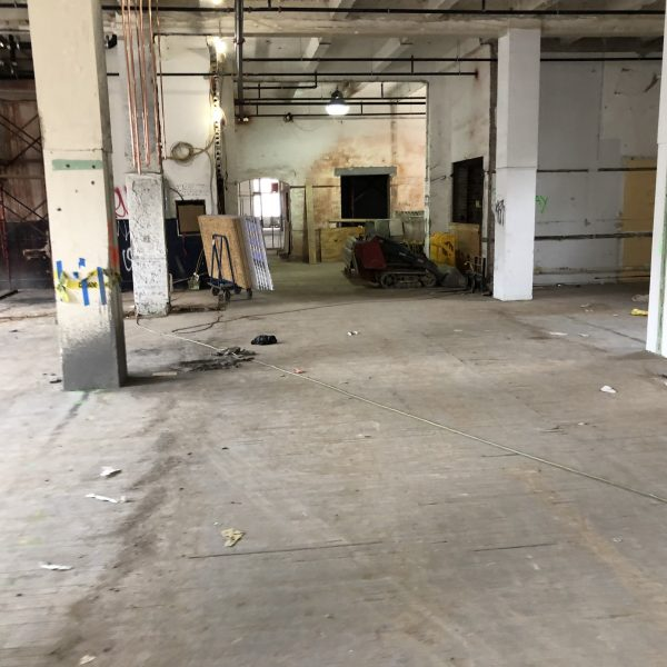 Office Floor Hardwood Restoration