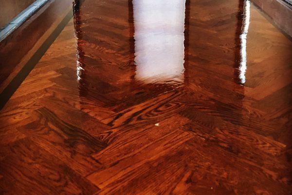 Rittenhouse Wood Floor Installation