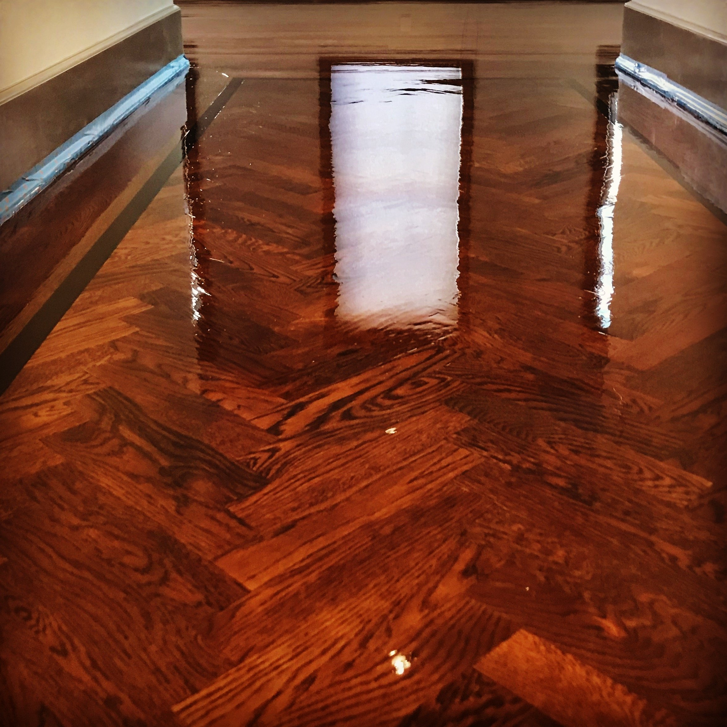 Rittenhouse Wood Floor Installation