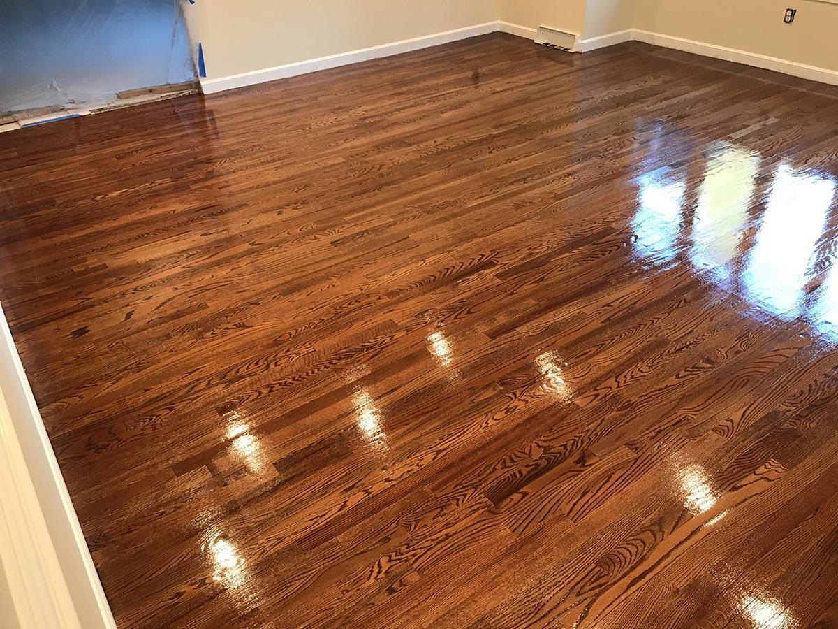 Blue Bell Hardwood Floor Refinishing